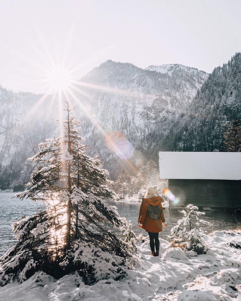 Königssee Berchtesgaden im Winter