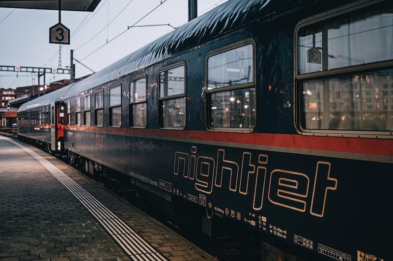 Nachtzug Nightjet ÖBB