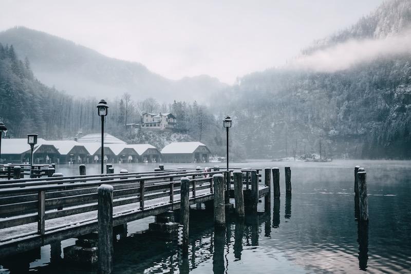 Schönau Königssee Bootsanleger