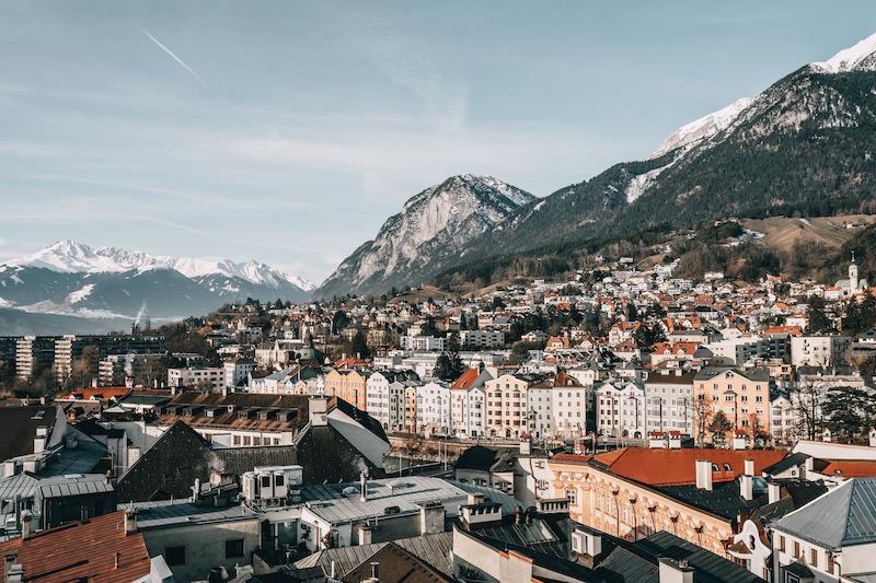 Stadtturm Innsbruck Ausblick