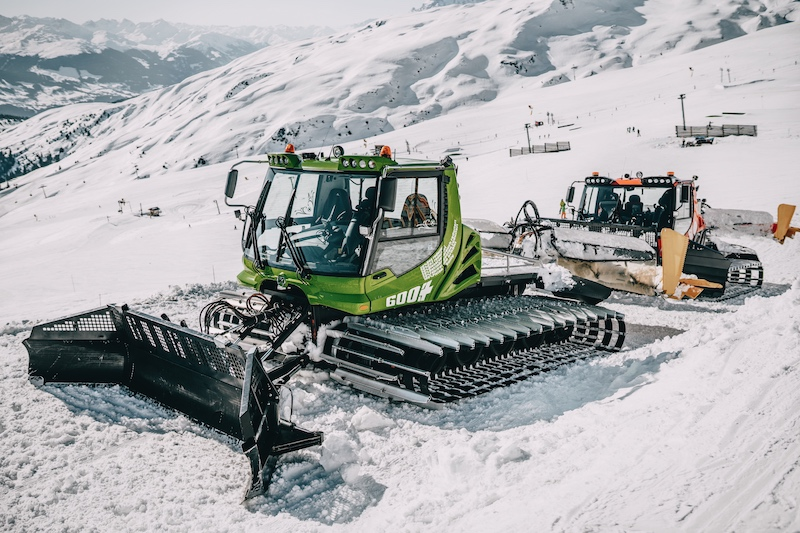 Laax E-Pistenbully Greenstyle