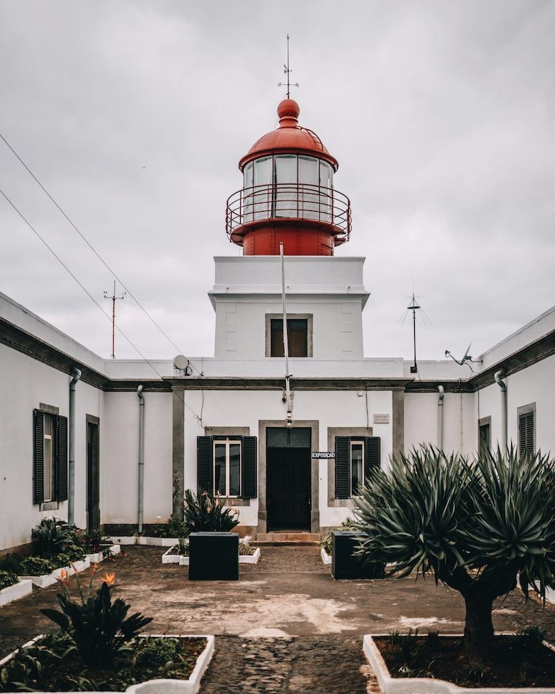 Madeira Urlaub Ponta do Pargo Leuchtturm