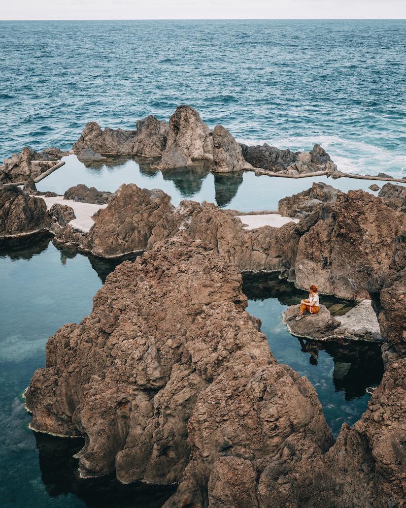 Madeira Urlaub Porto Moniz