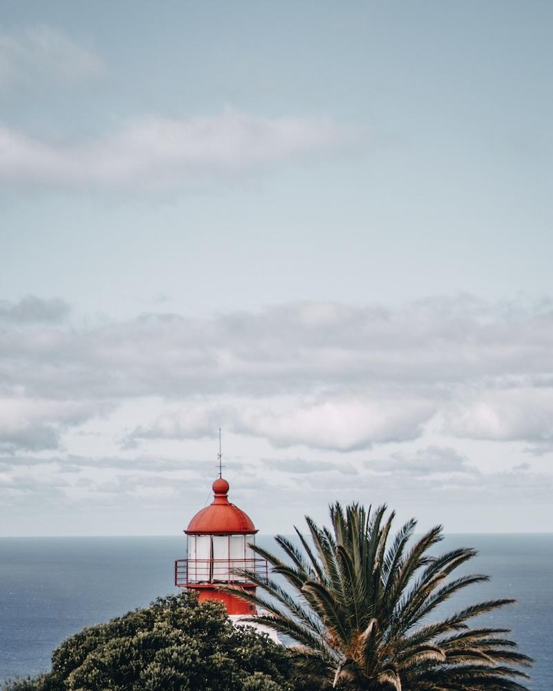Leuchtturm Ponta do Pargo Madeira Urlaub