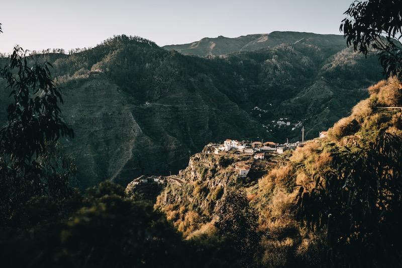 Madeira Urlaub Levada do Norte Ausblick