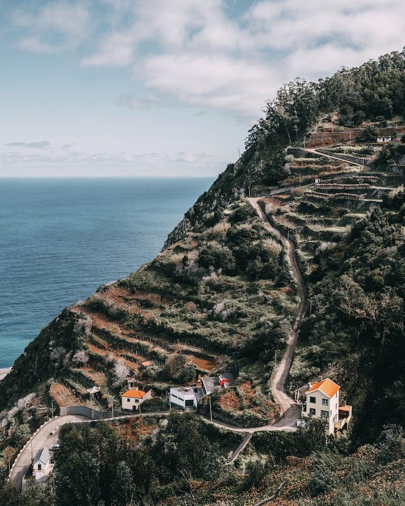 Straßen auf Madeira