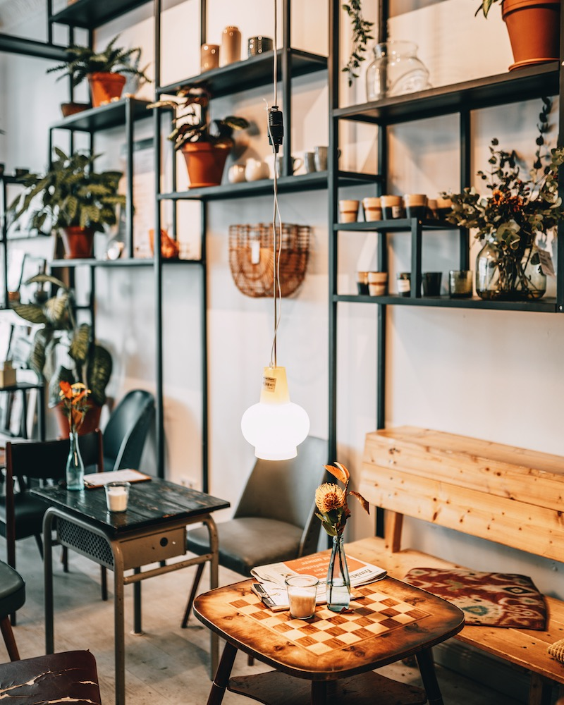Cafés in der Stadt