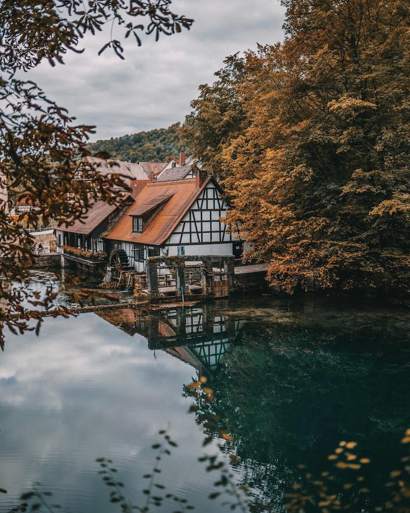 Urlaub in Deutschland Blautopf