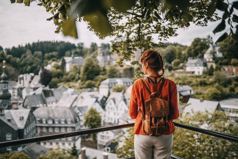 Aussichtspunkt Monschau Eifel