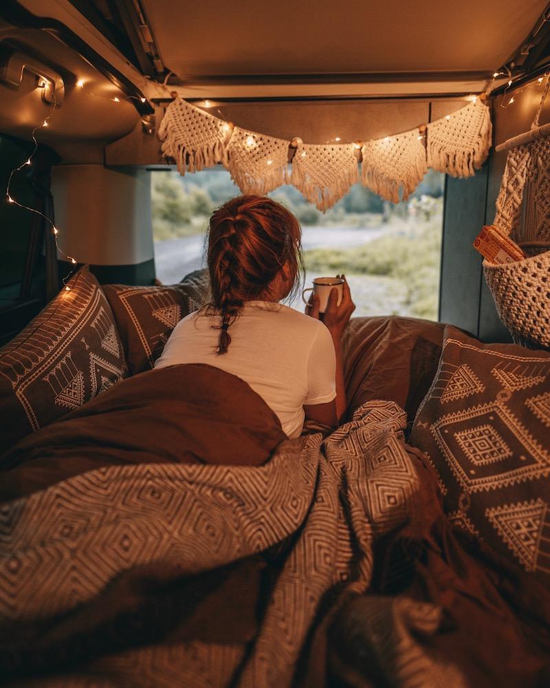 Campervan Bett