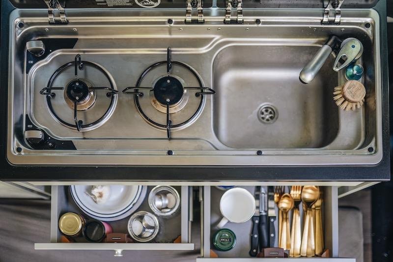 Crosscamp Life Küche