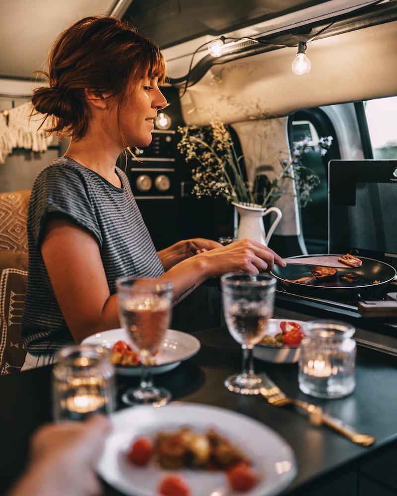 Kochen im Campervan