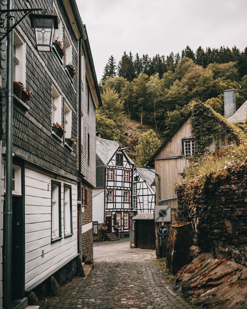 Monschau Eifel Altstadt