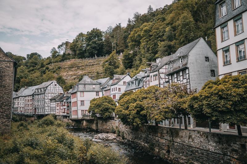 Monschau Fachwerkhäuser Rur