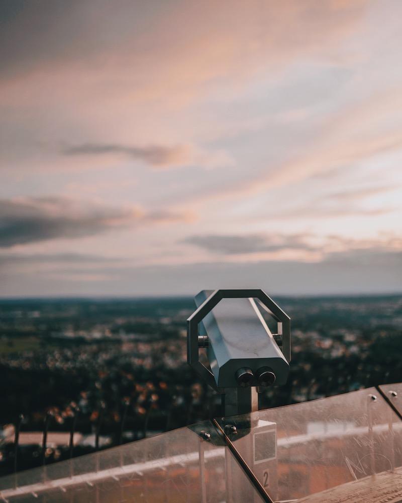 Stuttgarter Fernsehturm Ausblick