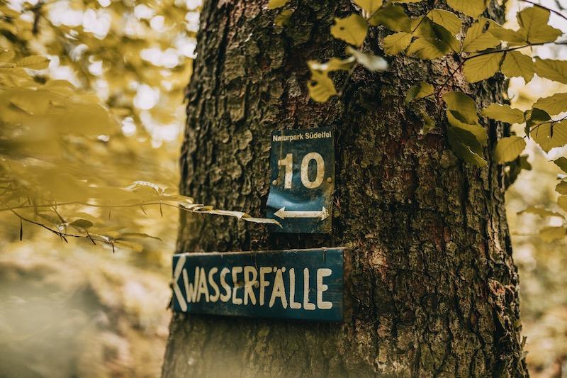 Camping in der Eifel Wasserfälle