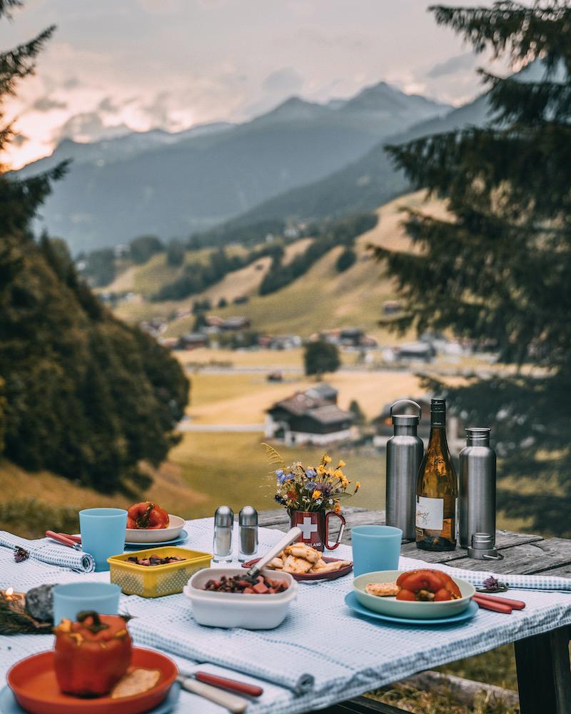 Feuerstelle Grillplatz Davos Klosters