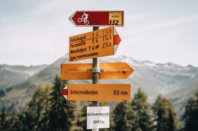 Gotschnaboden Panoramaweg Schwarzseealp