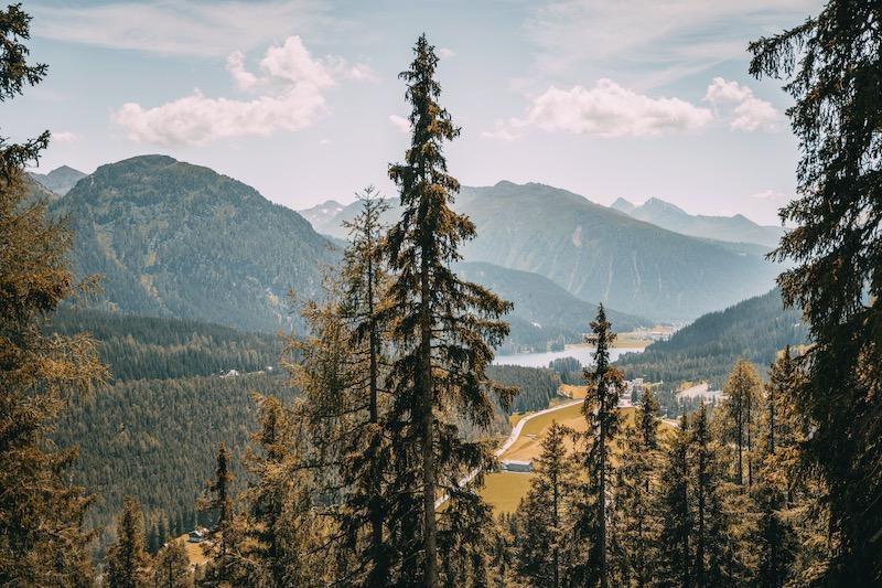 Gotschnaboden Schwarzseealp Davos Klosters