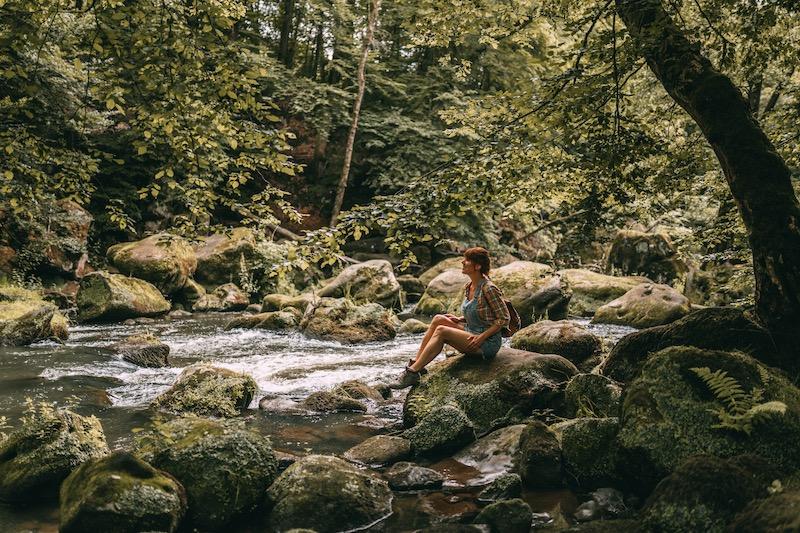 Irreler Wasserfälle Wandern in der Eifel