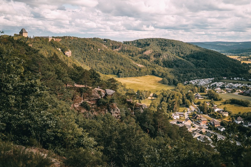 Nideggen wandern in der Eifel