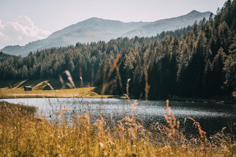 Schwarzsee Davos Klosters im Sommer