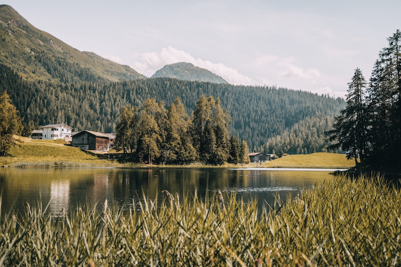 Schwarzsee Davos Klosters
