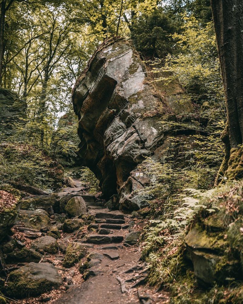 Teufelsschlucht Camping in der Eifel