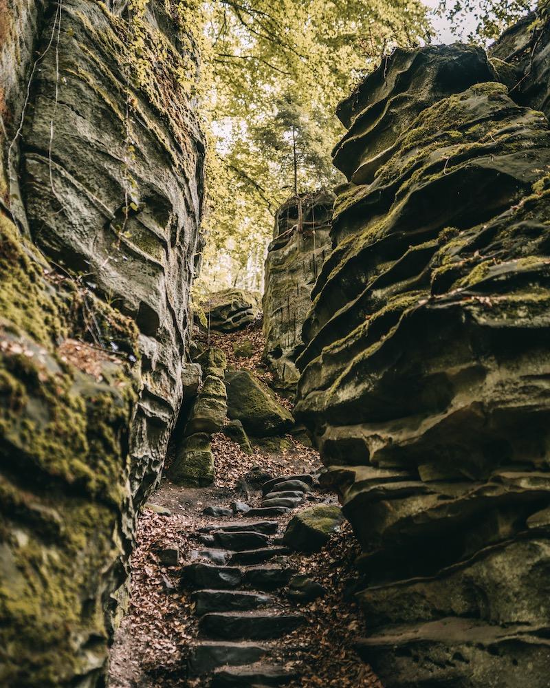 Teuflische Acht wandern in der Eifel