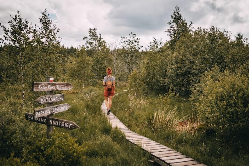 Wandern in der Eifel Hohes Venn