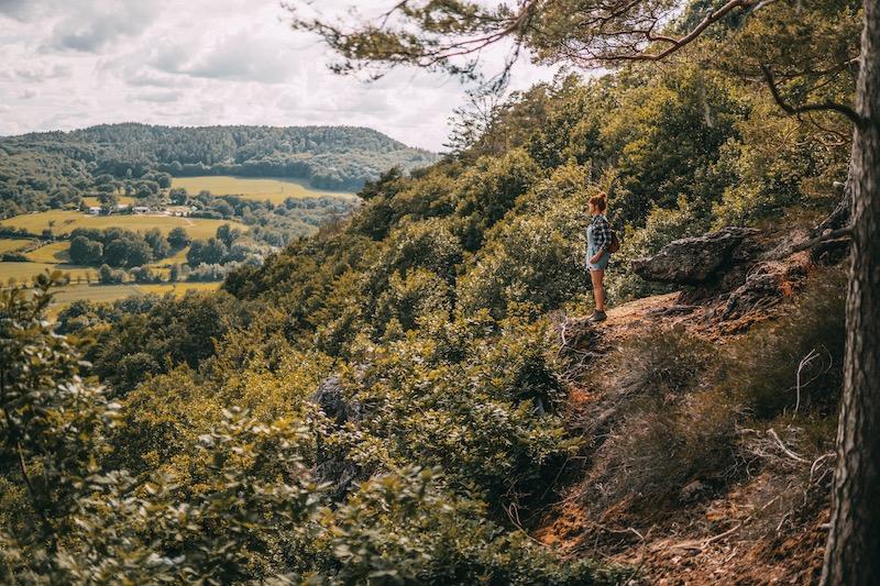 Wandern in der Eifel Nideggen