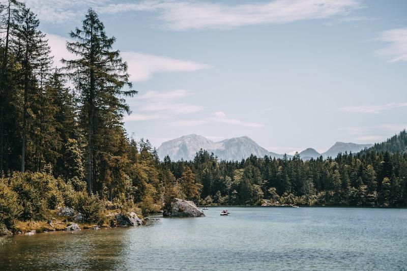 Berchtesgaden Hintersee Sommer