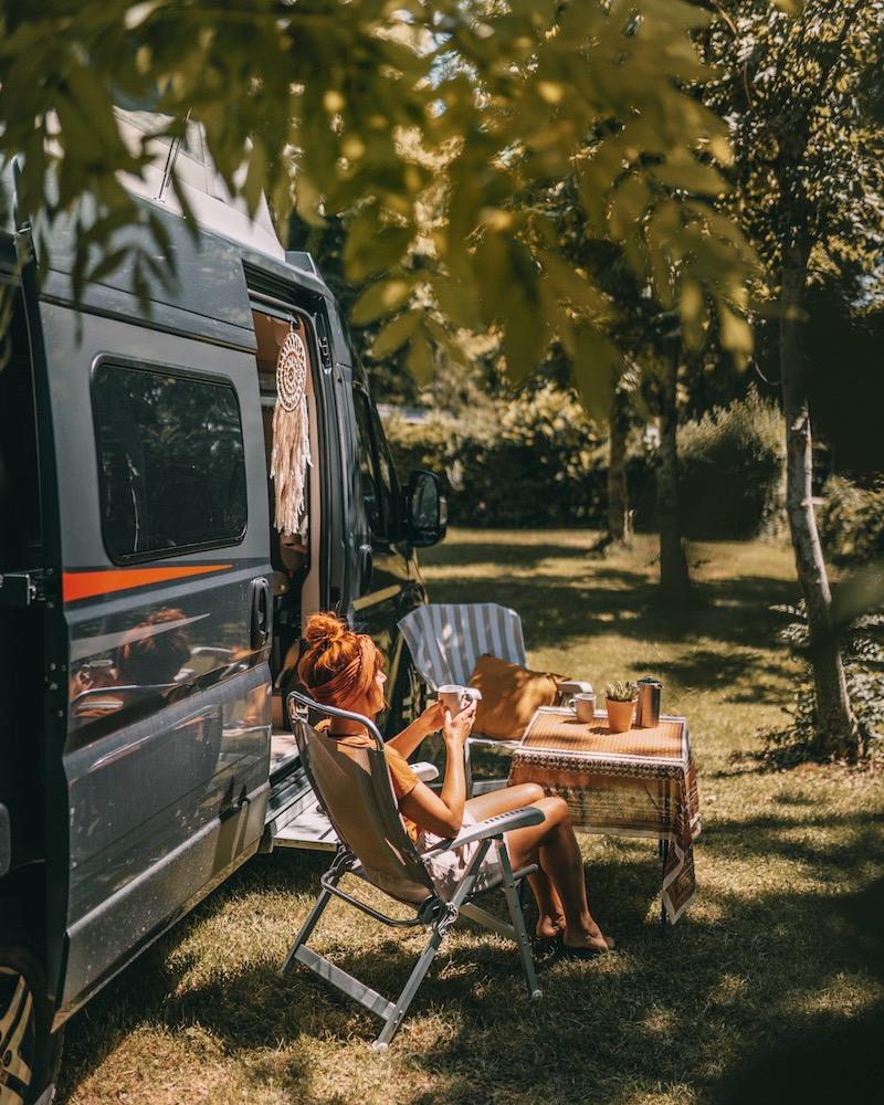 Camping Campeo Kaffeepause