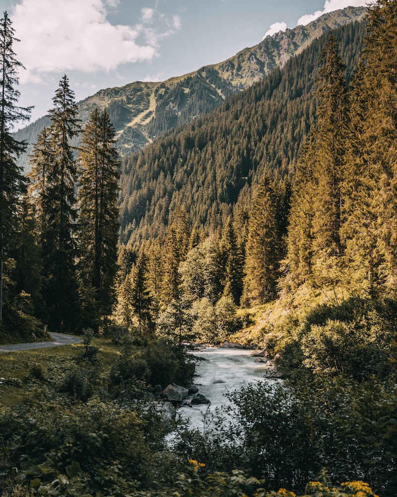 Davos Klosters im Sommer Landquart