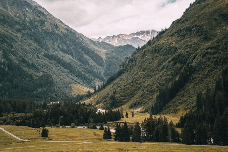 Davos Klosters im Sommern wandern