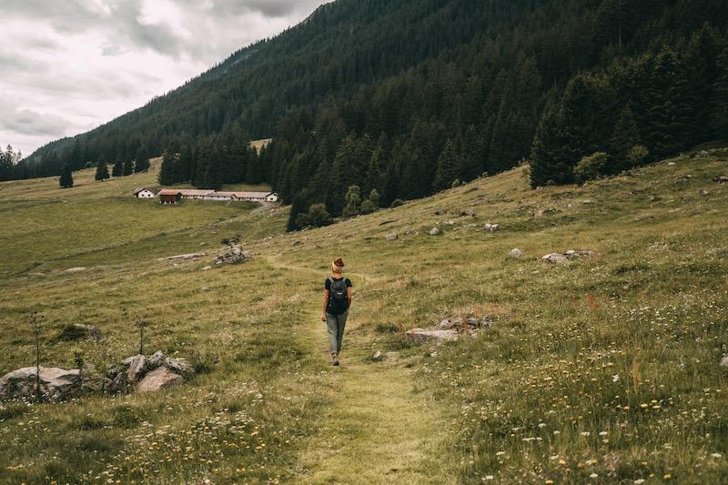Davos Klosters wandern im Sommer