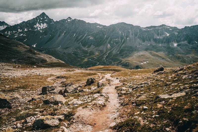 Davos Klosters Wanderung Jöriflüelafurgga
