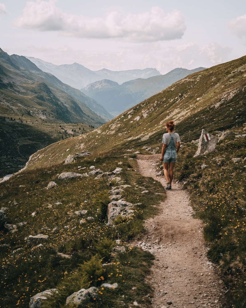 Davos Klosters Wanderung Jöriseen