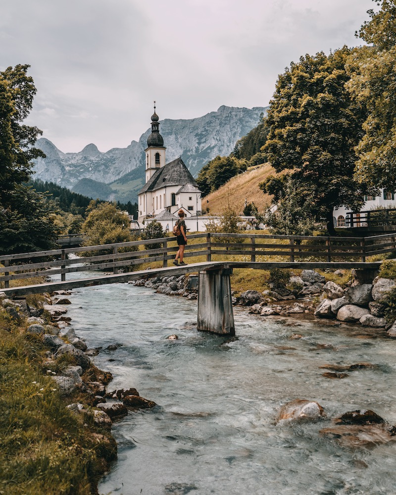 Deutsche Alpenstraße Ramsau