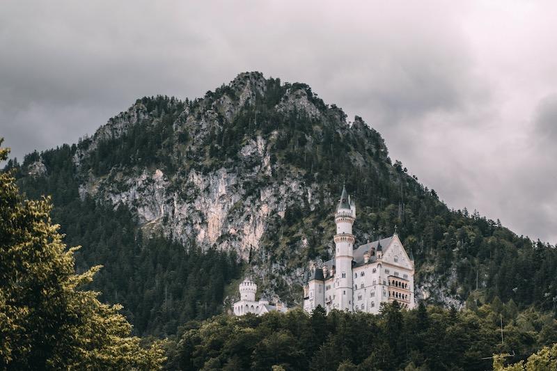 Deutsche Alpenstraße Schloss Neuschwanstein