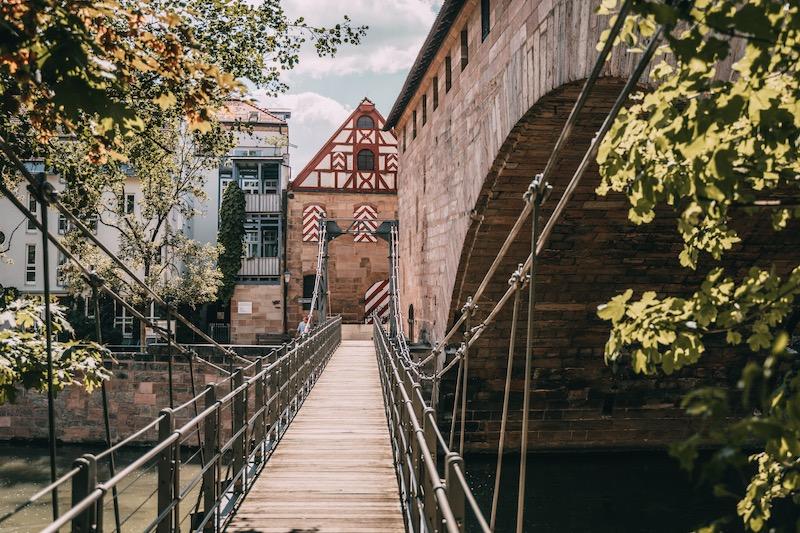 Hängebrücke Nürnberg