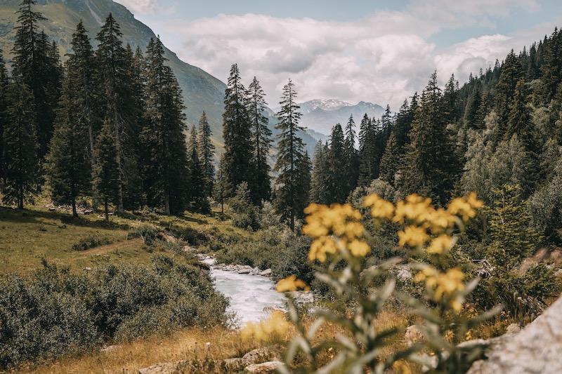Klosters Wanderung zur Alp Sardasca