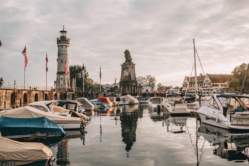 Lindau Bodensee Hafen
