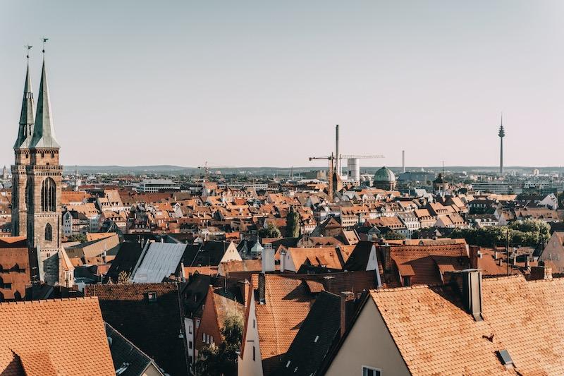 Nürnberg Tipps Ausblick Kaiserburg