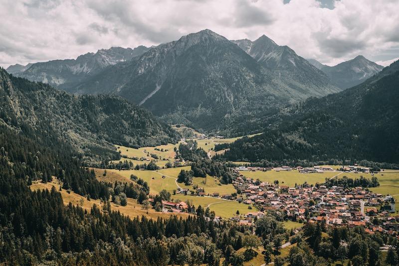 Oberjoch Deutsche Alpenstrasse
