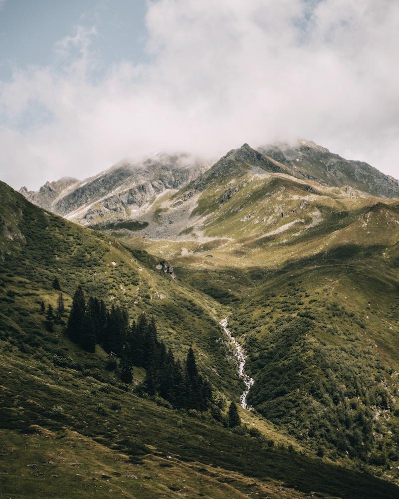 Sardasca Tal Davos Klosters Schweiz