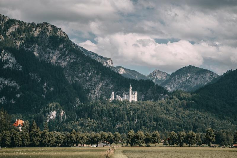 Schloss Neuschwanstein Deutsche Alpenstraße