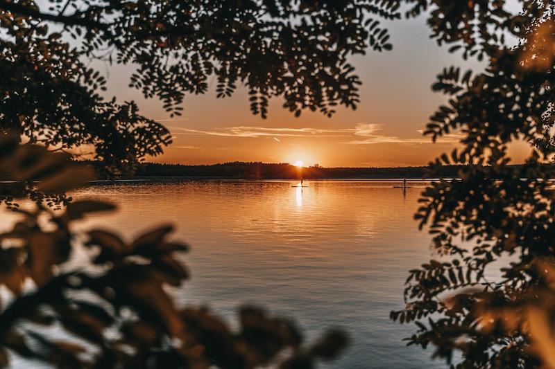 Sonnenuntergang Rothsee