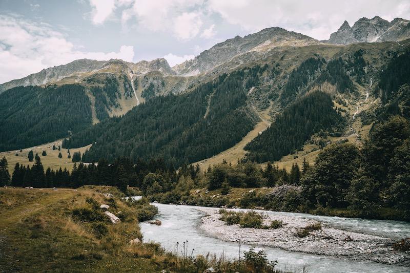 Wanderung Monbiel Landquart