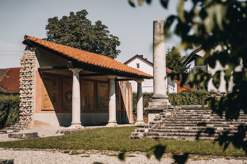 Apollo Grannus Tempel Faimingen